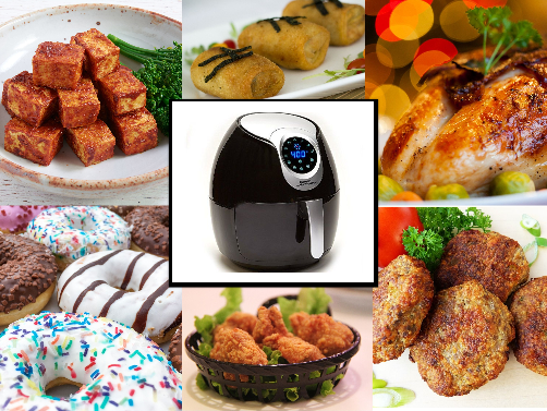 Is air frying healthy, What can you cook in an air fryer